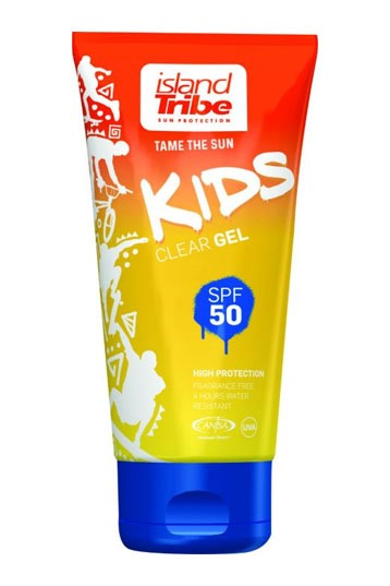 Island Tribe SPF 50 Clear Gel Kids 50ml Zonnebrand