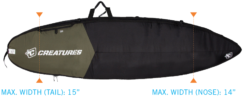 Creatures Triple boardbag