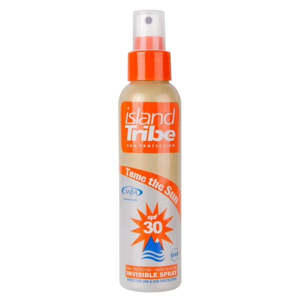 Island Tribe SPF 30 Clear Gel Spray 125ml Zonnebrand