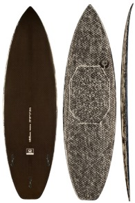 Klokhouse Full Carbon Surfboard