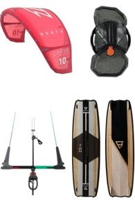 Carve + Dimension 2020 Kitesurf Set