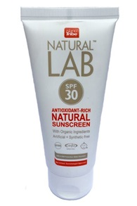 SPF 30 Natural Lab 100ml Sunscreen