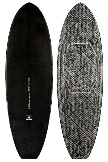 Appletree - Klokhouse Noseless Full Carbon Surfboard