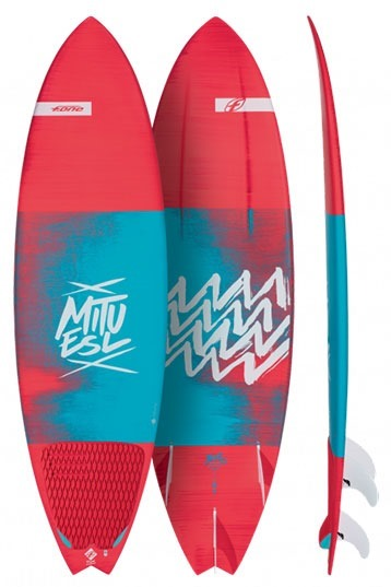 Red Northcore 6mm Surfboard Leash 2019