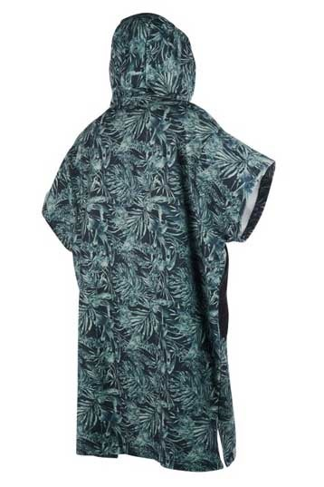 Mystic Wetsuit Poncho Allover Green ONE SIZ