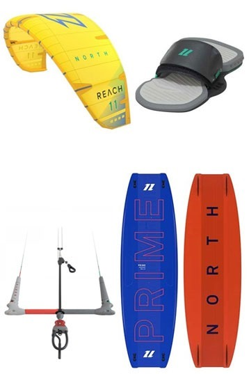 North - Reach + Prime 2020 Kitesurf Set