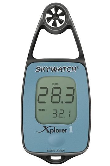 SkyWatch Xplorer 3 Precision Wind Speed Temperature Meter Compass Anemometer
