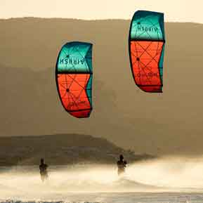 Kitesurfing and safety
